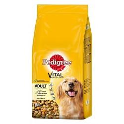 Pedigree Adult cibo per cani Pollo e Verdure 15KG ( 13 + 2 IN OMAGGIO)