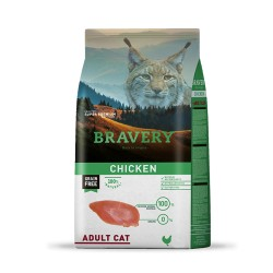 BRAVERY GATTO ADULT POLLO 400GR