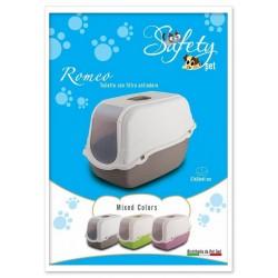 Safety Pet Romeo Toilette con filtro antiodore