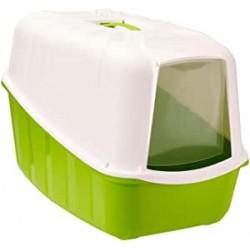 MPS Komoda Toilette per gatti chiusa completa di filtro e paletta, Colori assortiti