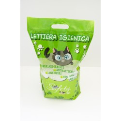 Lettiera Safety Pet Silicio 5LT Mela Verde