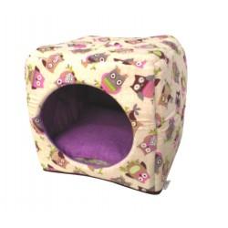 Cubo in gomma con cuscino morbido estraibile 3 Vers. 40x40  SafetyPet