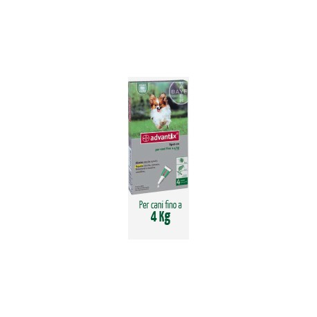 Antiparassitario Advantix Bayer  0-4 Kg