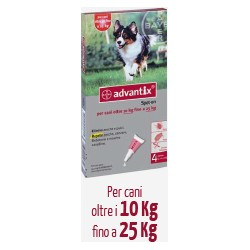 Antiparassitario Advantix Bayer  10-25 Kg