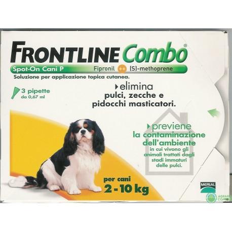 Frontline Combo ANTIPARASSITARIO CANE 3 PIPPETTE
