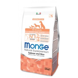Monge all breeds superpremium puppy 3 kg salmone e riso for Tartarughiera in plastica grande