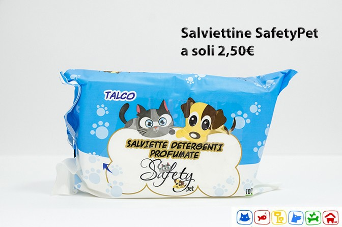 SafetyPet Salviettine